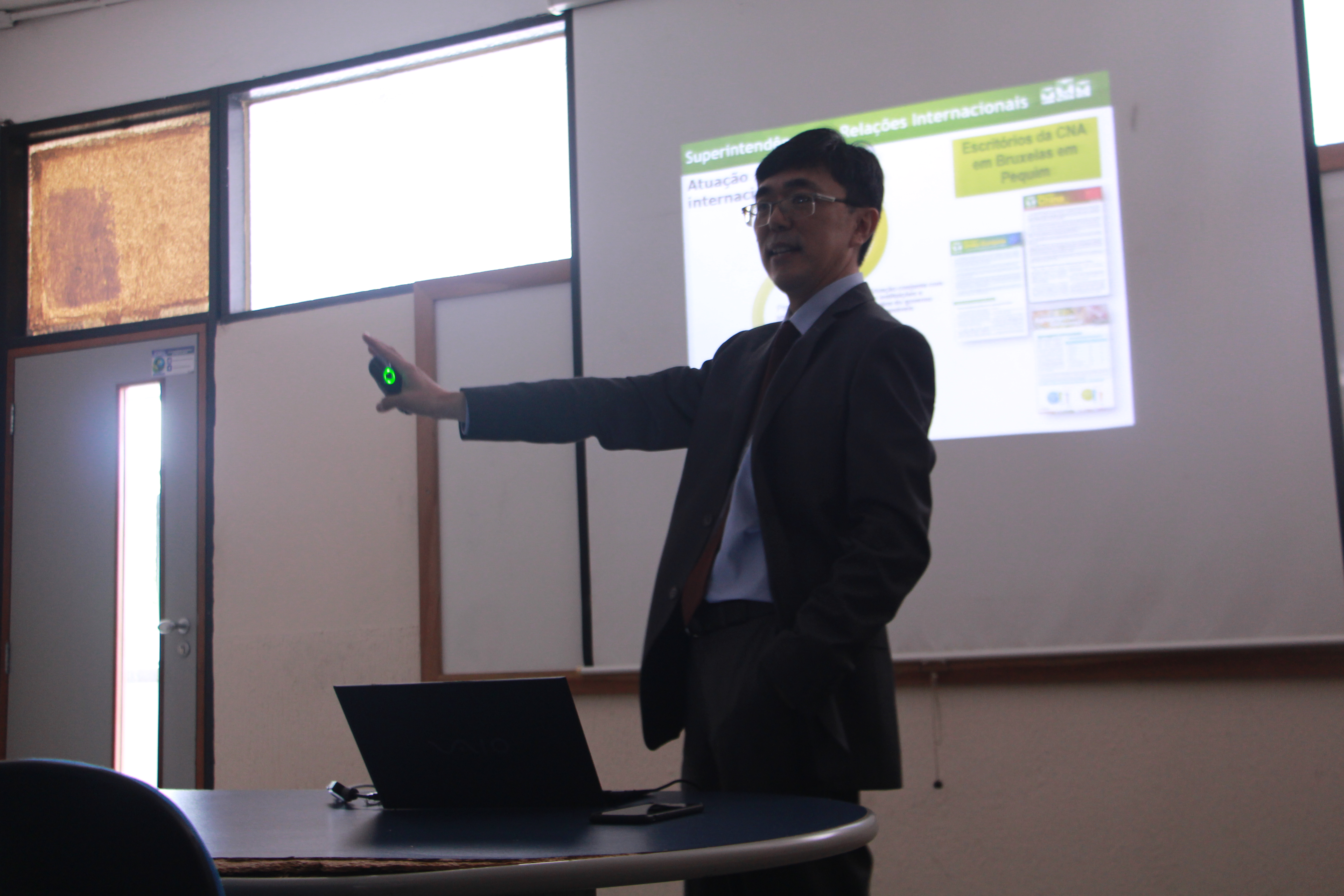 Mestrado em Aquicultura da Universidade Lins promove aula Magna