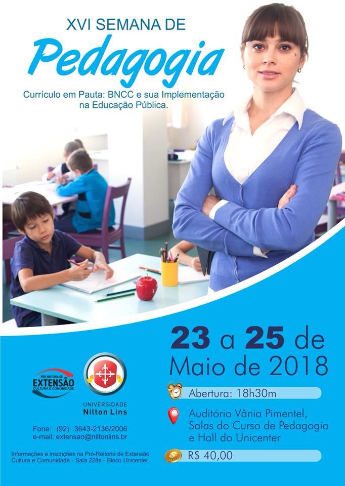 Semana da Pedagogia teve abertura nesta quarta-feira, no Auditório Vânia Pimentel