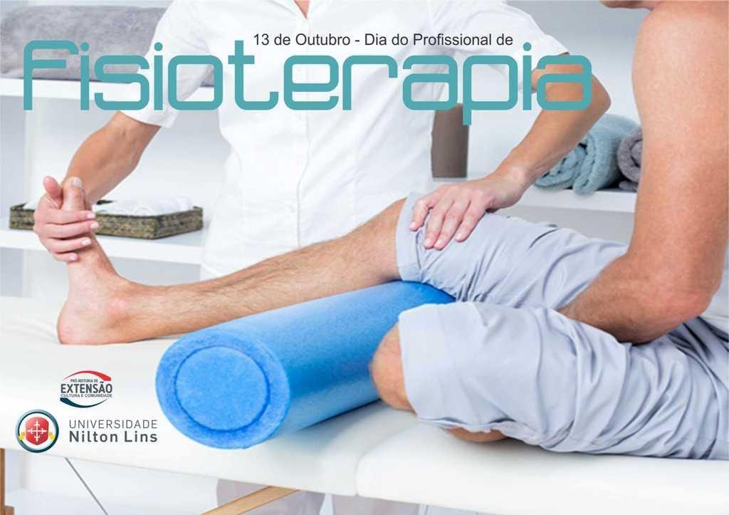 Universidade Nilton Lins parabeniza profissionais pelo mês do Fisioterapeuta