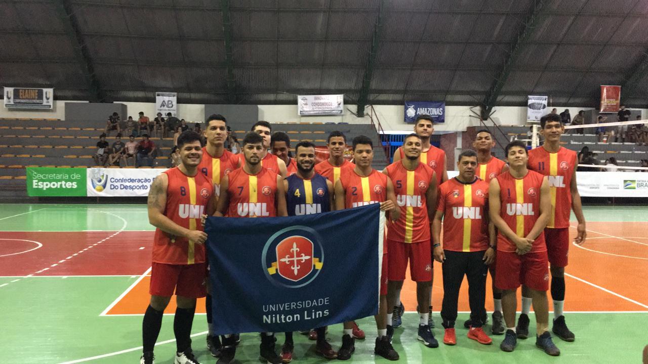 Universidade Nilton Lins comemora vitória em primeiro dia nos Jogos Universitários Brasileiros – JUBs