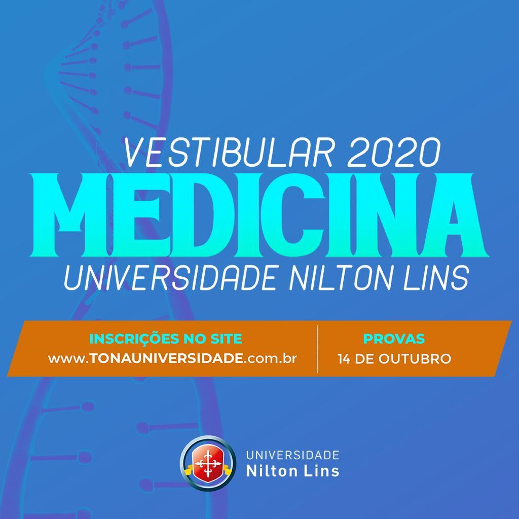 Vestibular para Medicina será no dia 14 de outubro