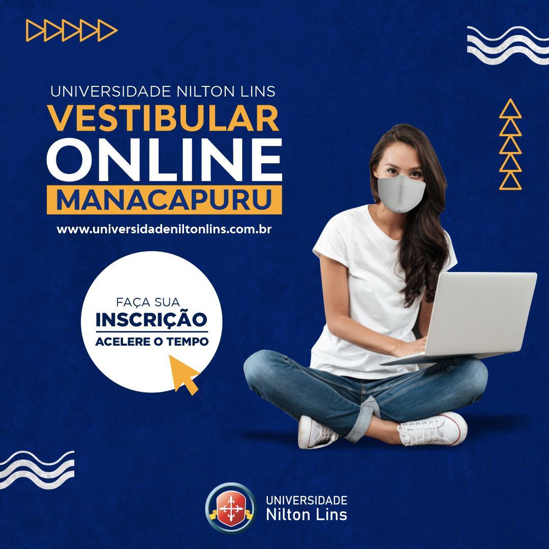 Vestibular online para o segundo semestre em Manacapuru