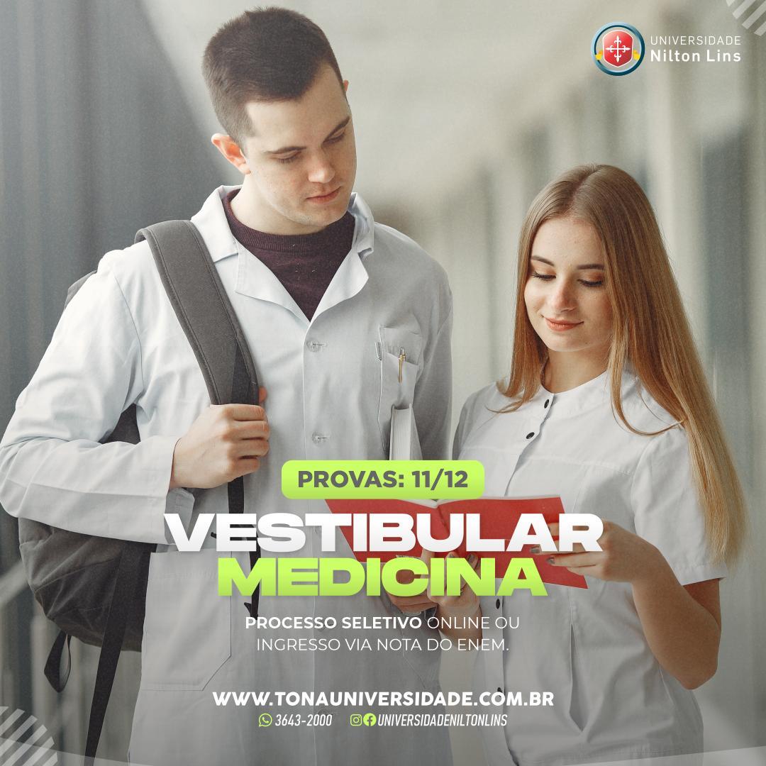 Universidade Nilton Lins recebe inscrições para vestibular de Medicina